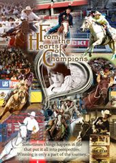 From the Hearts Of Champions DVD- Barrel Racing